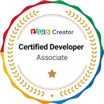 Badge - Certified Zoho Creator Associate
