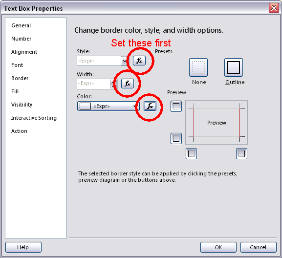 Border settings not saving in SSRS @ Joel Lipman  Com
